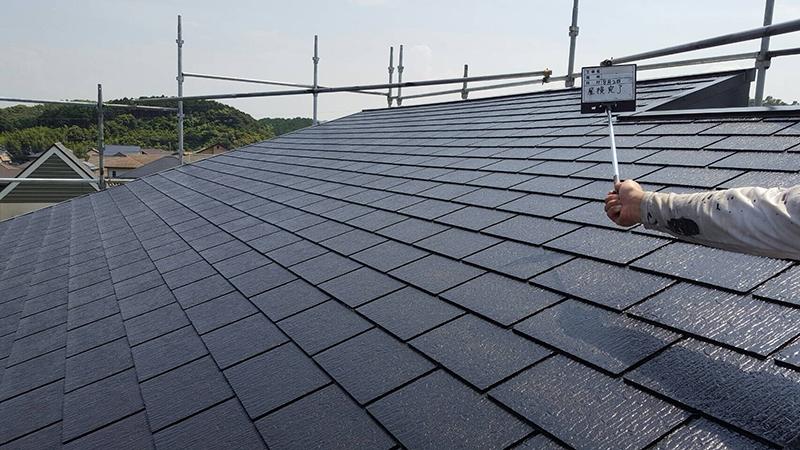 屋根塗装完了