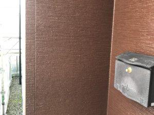 【外壁塗装工事】塗装完了