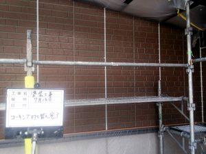 【壁塗装工事】コーキング打ち替え完了