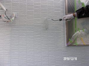 【外壁塗装】上塗り(2回目)