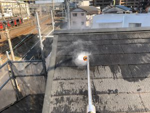 【屋根】高圧洗浄