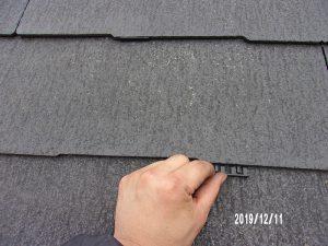 【屋根塗装】タスペーサー挿入