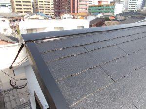 【屋根板金水切り】完了