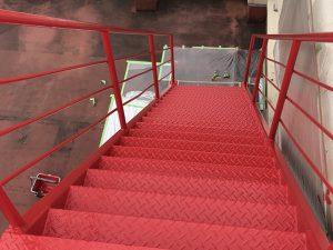 外階段塗装