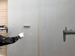 【雨戸塗装】上塗り2回目
