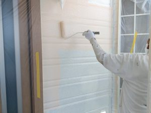 【外壁塗装】上塗り1回目