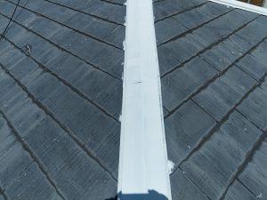 【屋根水切り塗装】完了