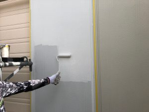 【雨戸塗装】上塗り1回目