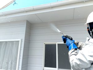 【外壁塗装】高圧洗浄