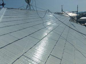 【屋根塗装】完了