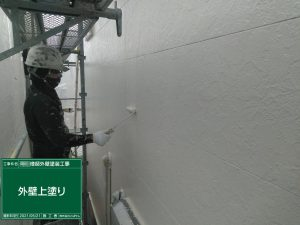 【外壁上塗り】北九州市八幡西区O様邸